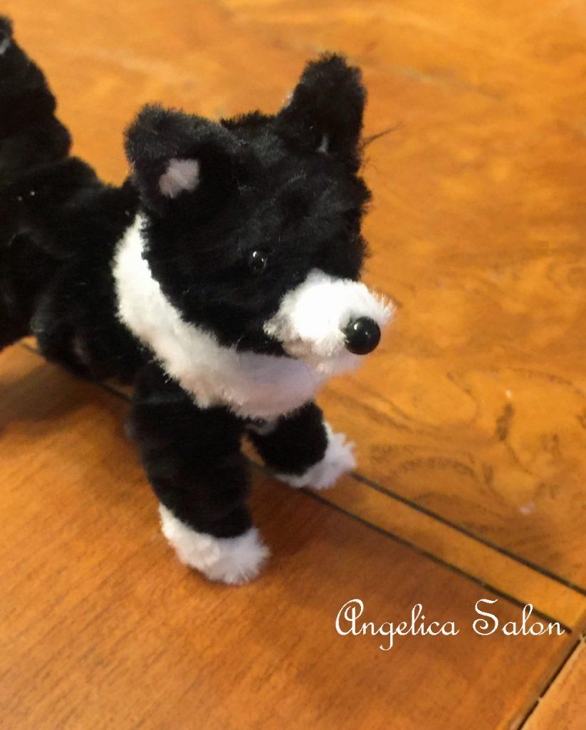 モールの犬ボーダーコリー