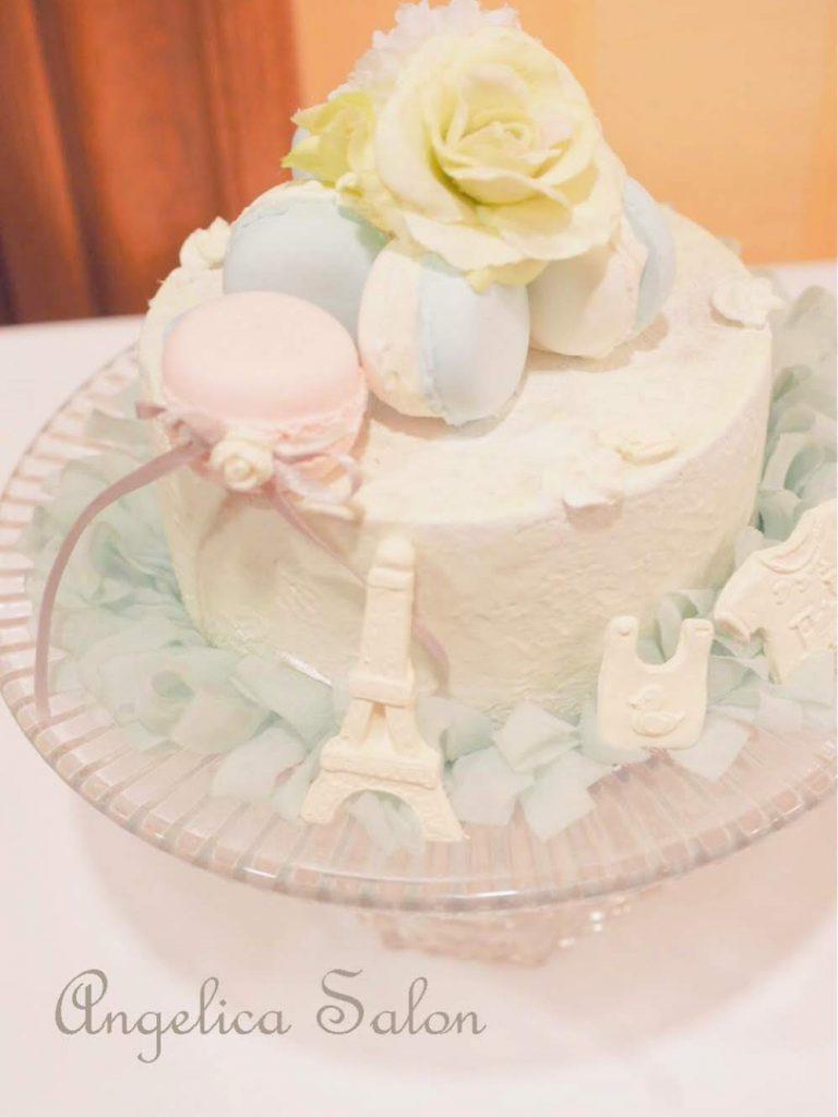 クレイマカロンケーキ