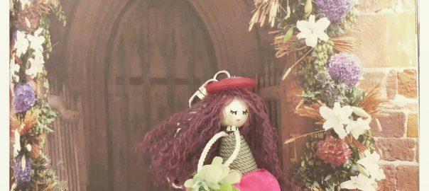 タッセル人形、Tassel,タッセル、バッグチャーム、ドールチャーム