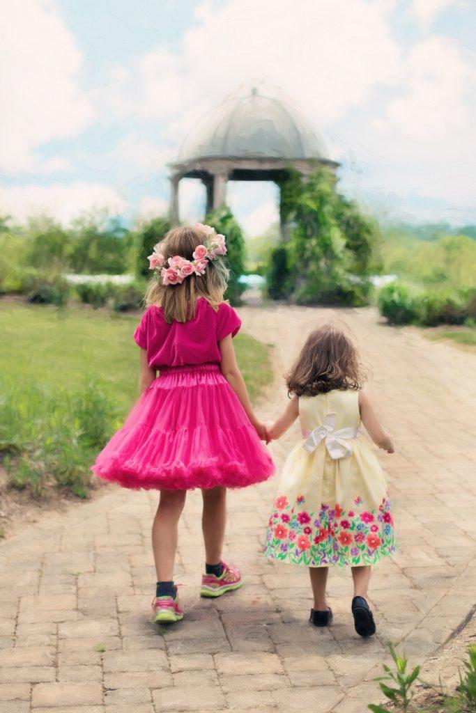 お姫様ごっこ、女の子、Girl,princess