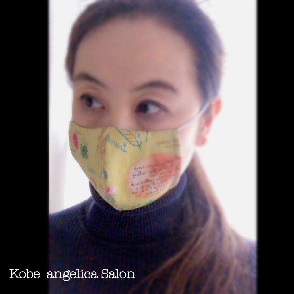 マスク,facemask,花粉症予防,手作りマスク